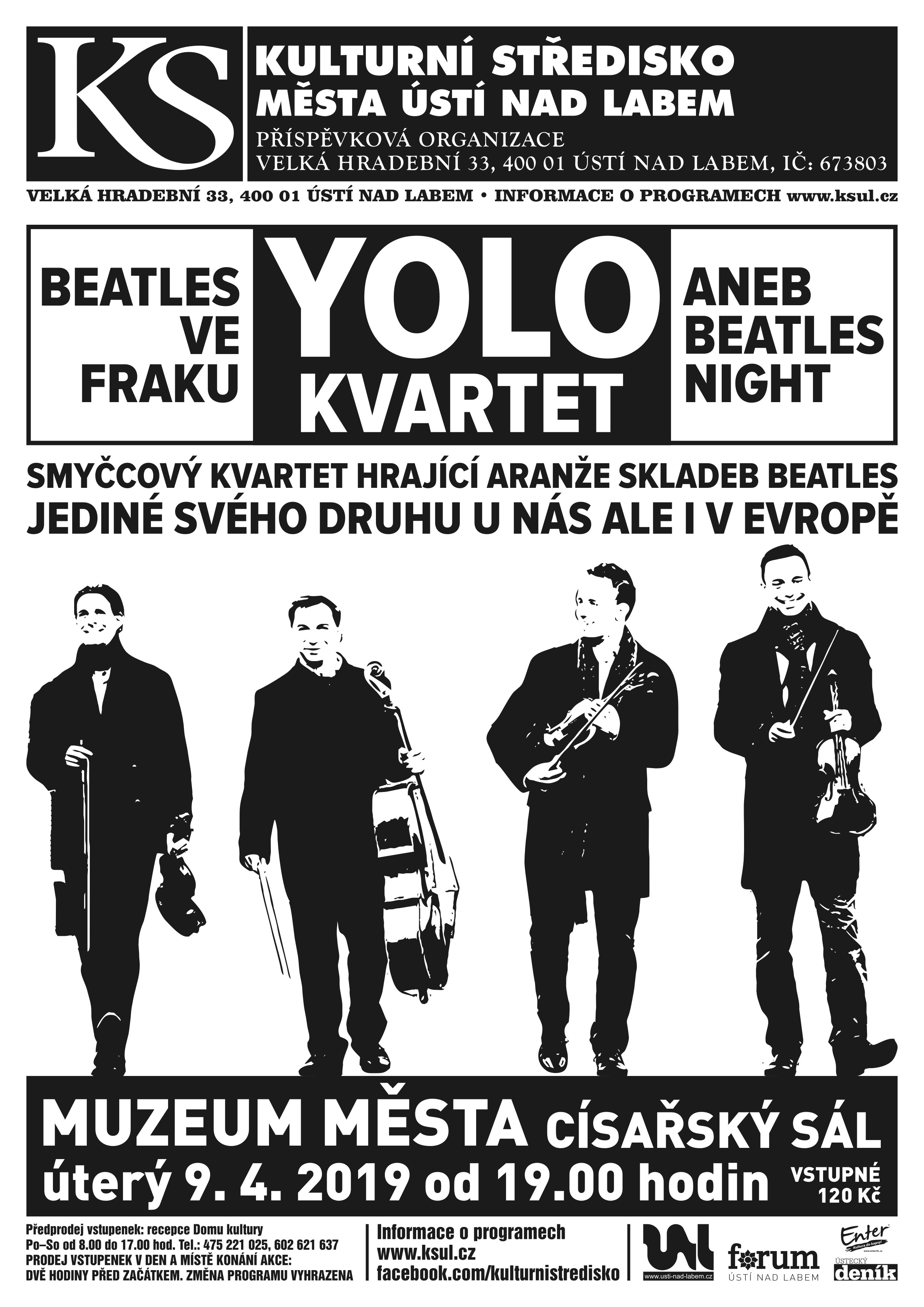 BEATLES VE FRAKU (BEATLES NIGHT)